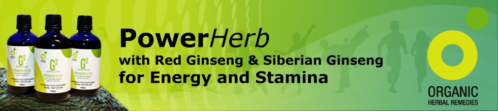 PowerHerb with Panax and Siberian Ginseng