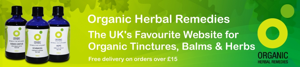 Organic Herbal Remedies and Tinctures
