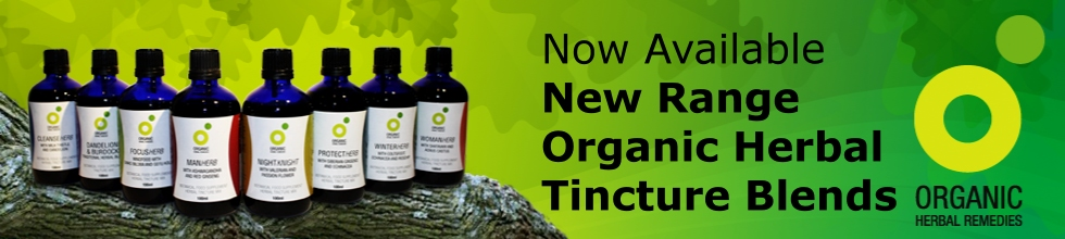 Organic Herbal tincture Blends