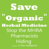 Stop the MHRA Pharmacists Hiding Organic in the Smallprint